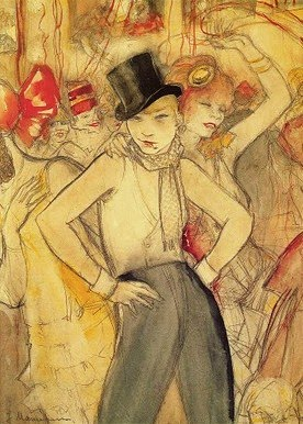 Jeanne Mammen (German artist, 1890-1976) She Represents, 1927